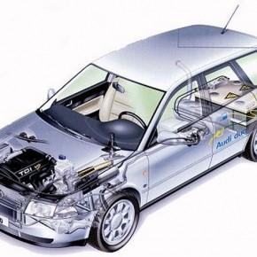 1997: Flottenversuch Audi duo in Erlangen
