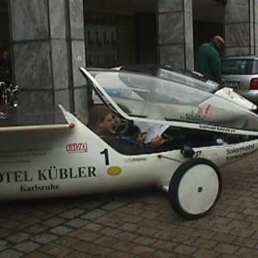 """Historisches Video-Material von unserer Elektroauto-Ausfahrt """"Fahren mit Sonne 1997"""""""