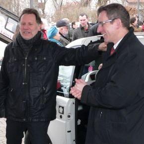 Inbetriebnahme der Elektrofahrzeuge des Carsharing e.V.