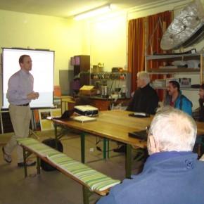 Vortrag über Schaeffler Radnabenmotoren der 2. Generation von Dr. Raphael Fischer