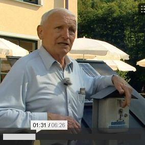 Bericht über die erste Stromtankstelle im Bayerischen Fernsehen