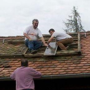 Abbau der ersten Solarladestelle Bayerns