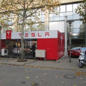 Tesla probefahren in Erlangen