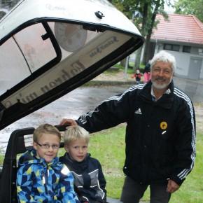 Solarmobil im Ferienprogramm