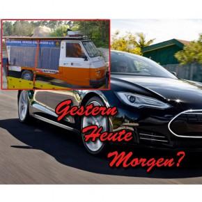 Alles neu macht der 1. Mai - mit Tesla P85D!
