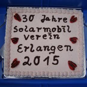 30 Jahre Solarmobil Verein Erlangen e.V.