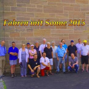 Impressionen der Sonnenfahrt 2015
