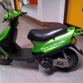El-Scooter - ein Motorroller verwandelt sich
