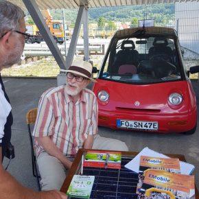 18.06.2017: Schautag Elektromobilität in Ebermannstadt