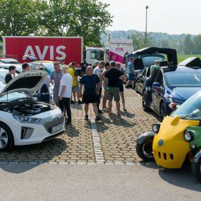 Besuch der 8. Fahrzeugschau für Elektromobilität in Bad Neustadt/Saale