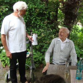 Erich wird 90. Wir gratulieren!