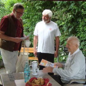 90. Geburtstag von Erich Wirth